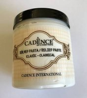 (119) Pasta strukturalna 250ml Cadence Classic Relief