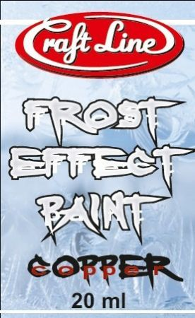 "(481) Frost Effect Paint 20ml (copper) - Farba ""Efekt Szronu"" (miedz)"