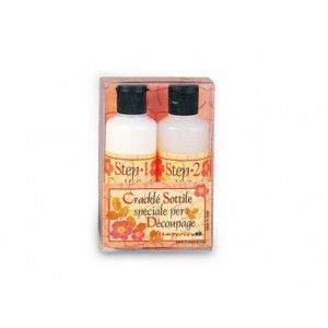 (74-12) Stamperia Crackle sottile 2 x 80 ml
